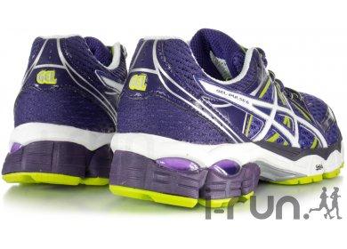 Asics Gel pulse 6 Violet Blanc Ver Running trail