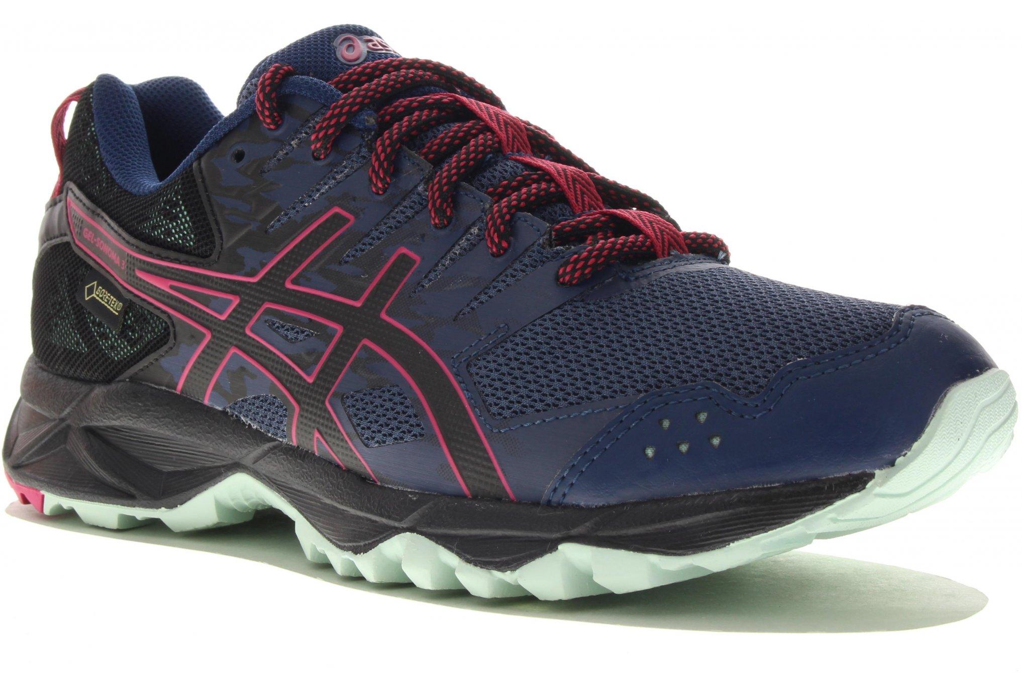 Asics Gel Sonoma 3 Gore-Tex W Chaussures running femme
