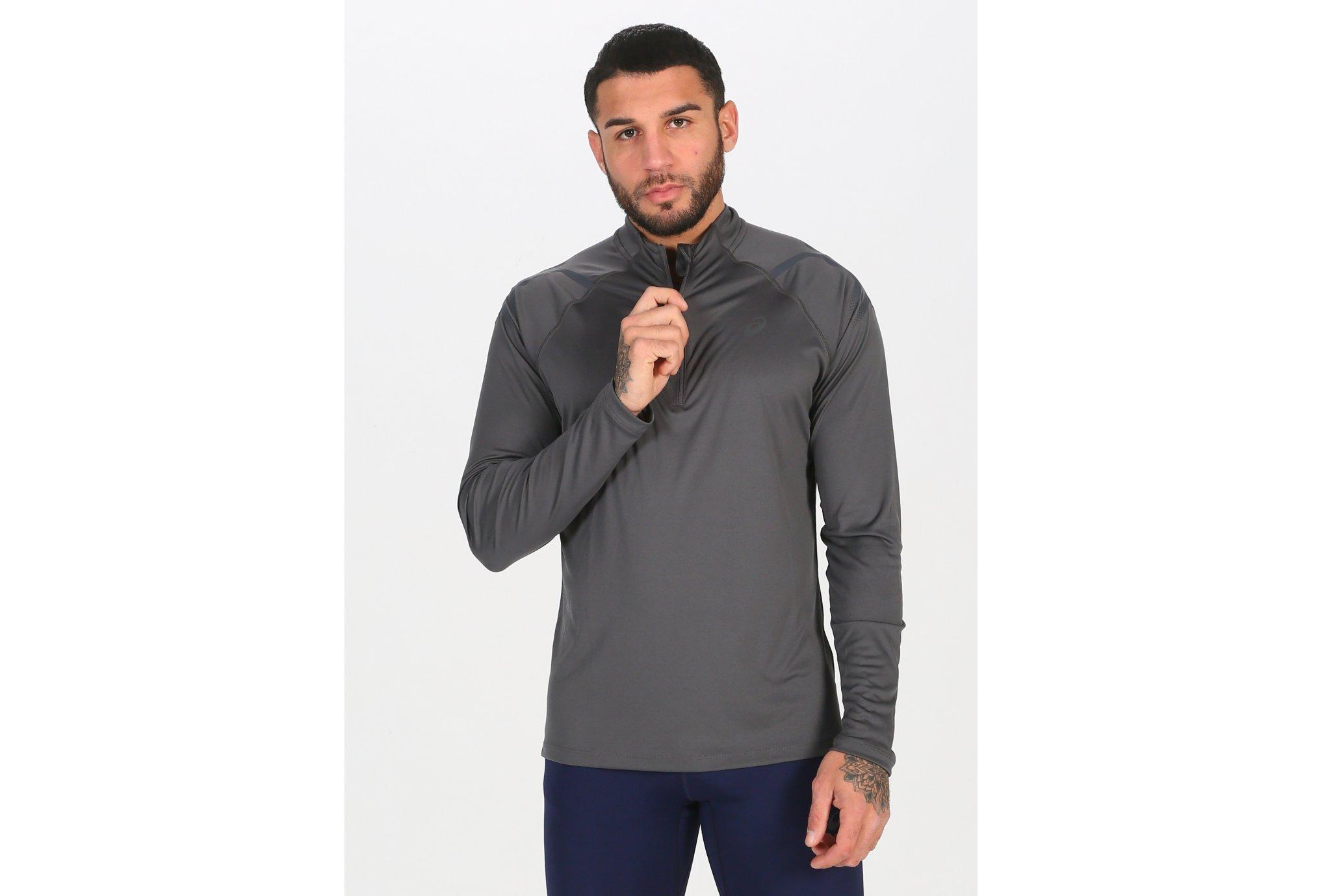 Asics Icon 1/2 Zip M vêtement running homme