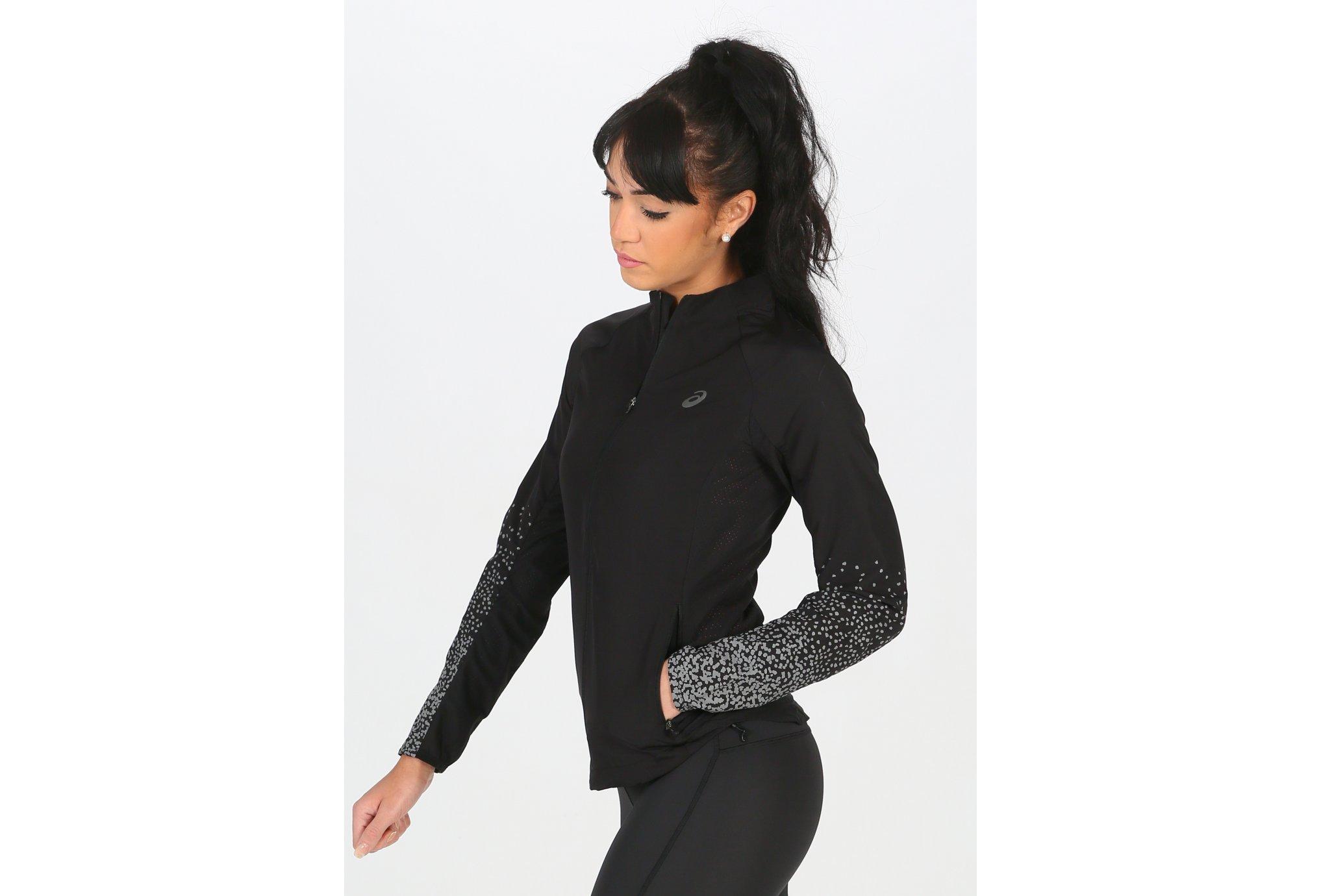 Asics Lite-Show Jacket W Diététique Vêtements femme