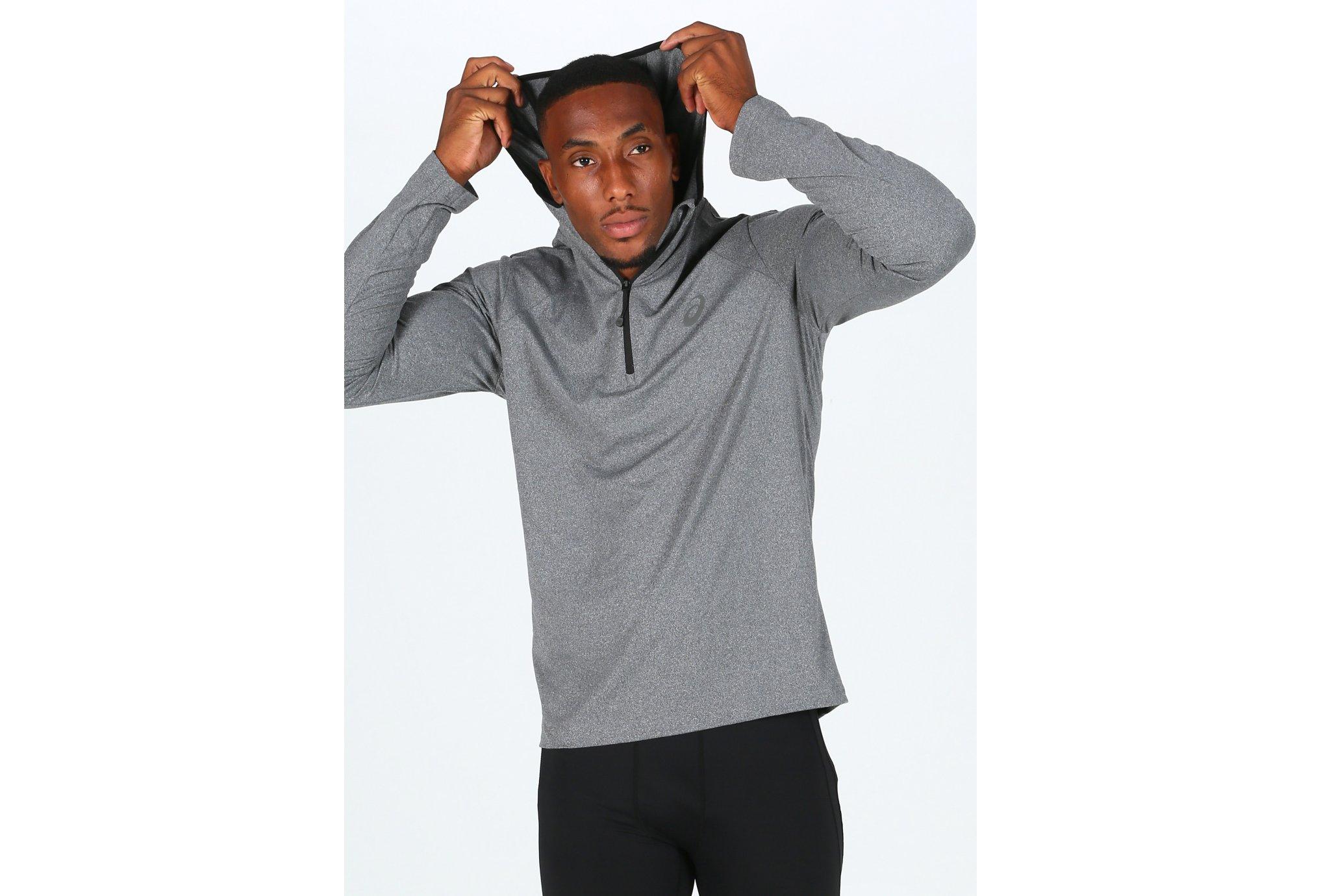 Asics LS Hoodie M vêtement running homme