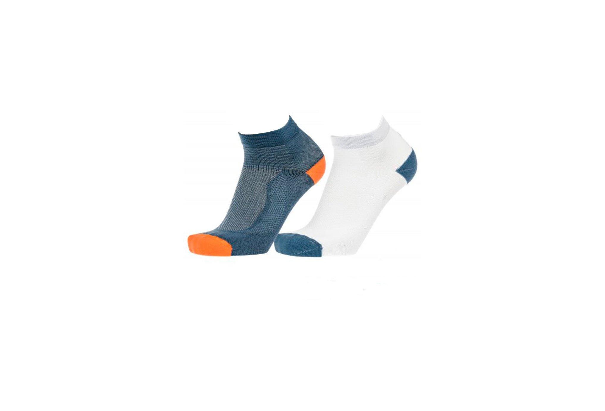 Asics Pack 2 paires Ultra Lightweight Quarter Chaussettes