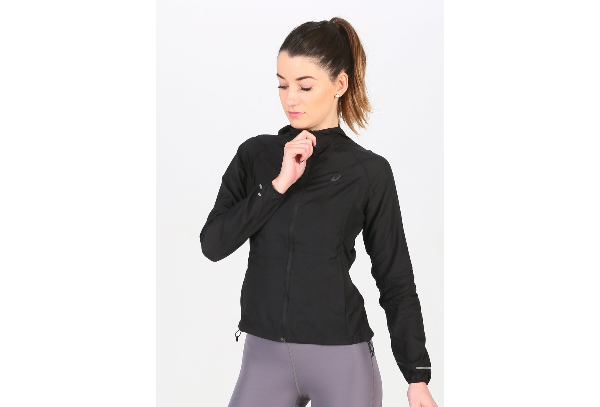 Asics Packable Jacket W vêtement running femme
