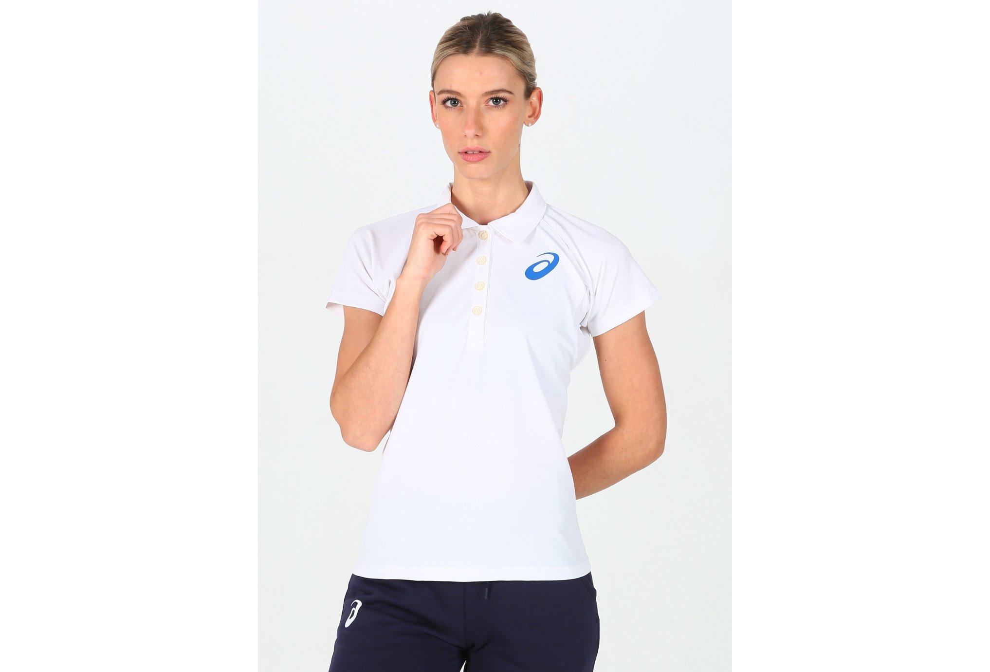 Asics Polo France W vêtement running femme