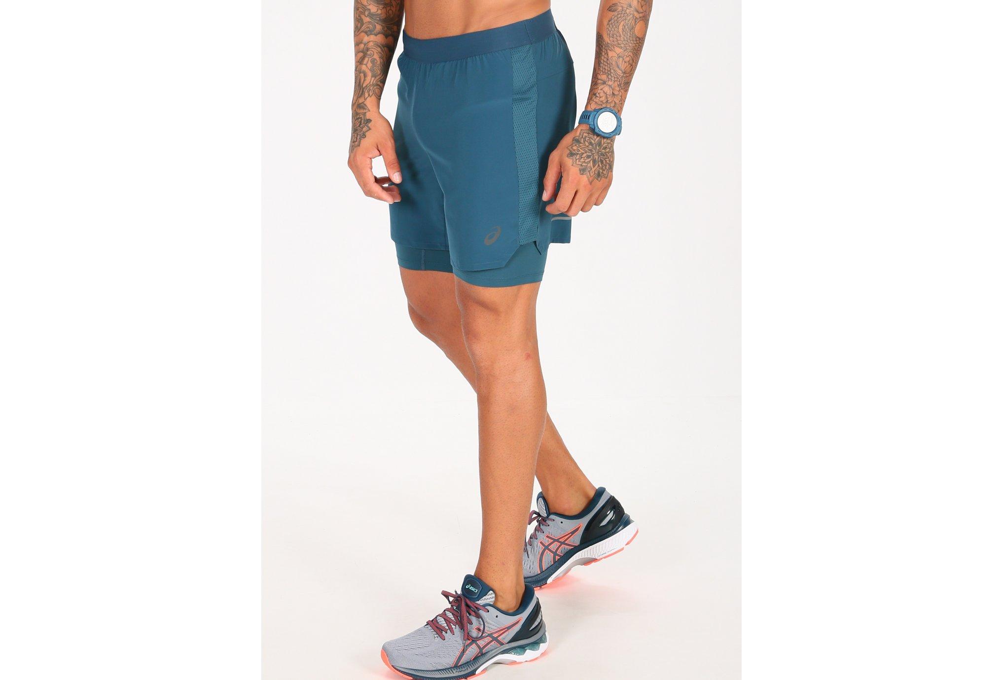 Asics Road 2 en 1 M vêtement running homme