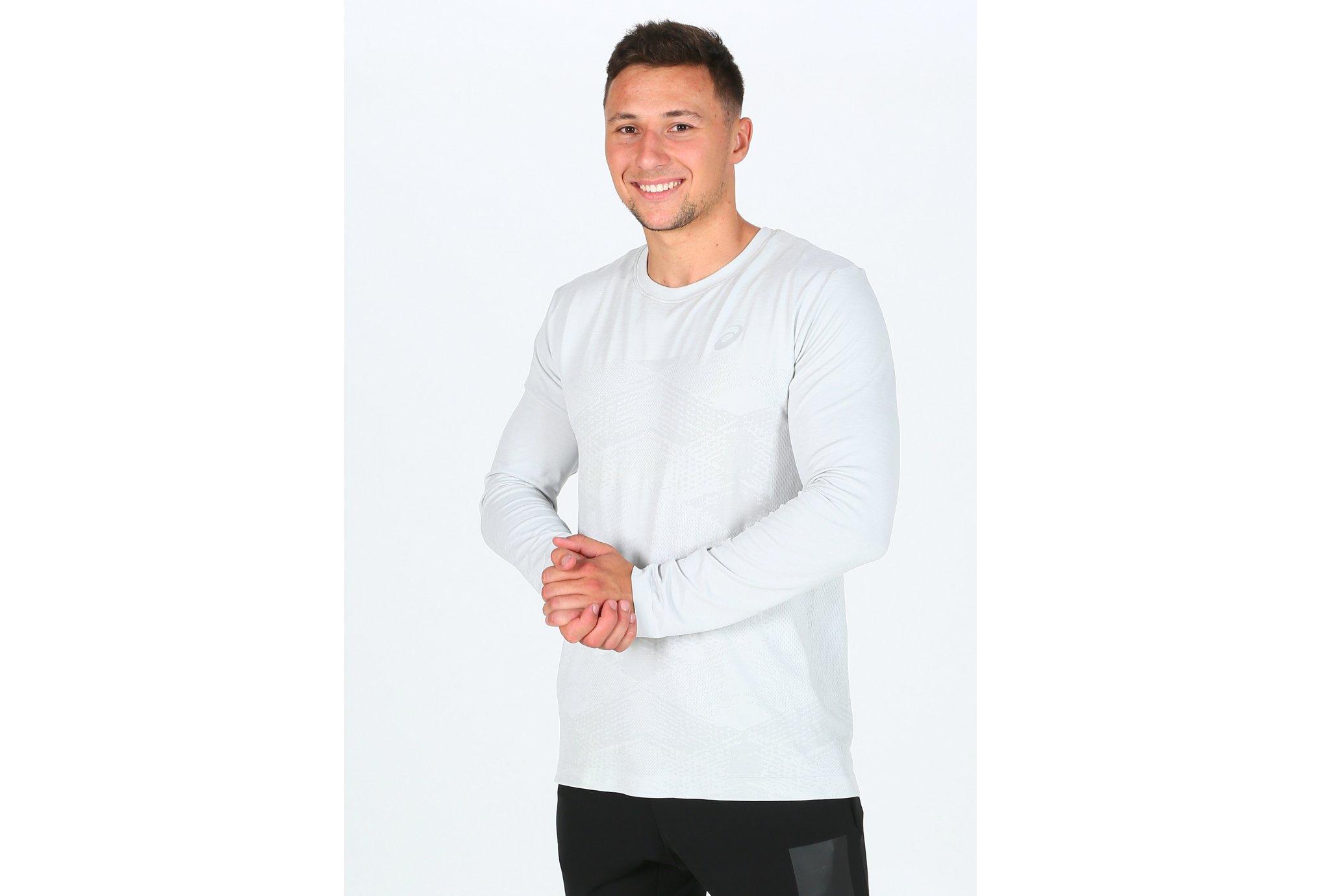Asics Seamless LS Crew M Diététique Vêtements homme