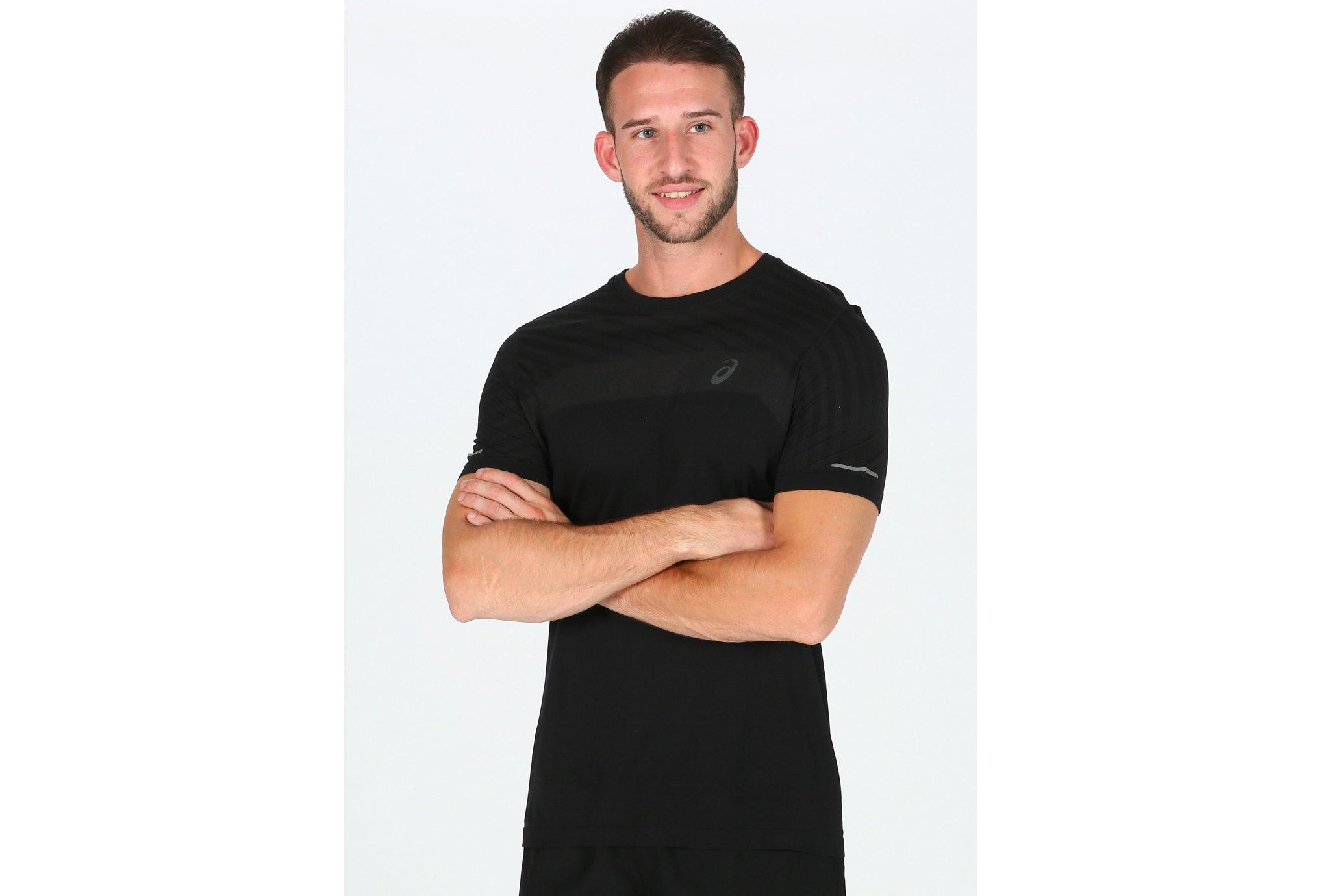 Asics Seamless Texture M Diététique Vêtements homme