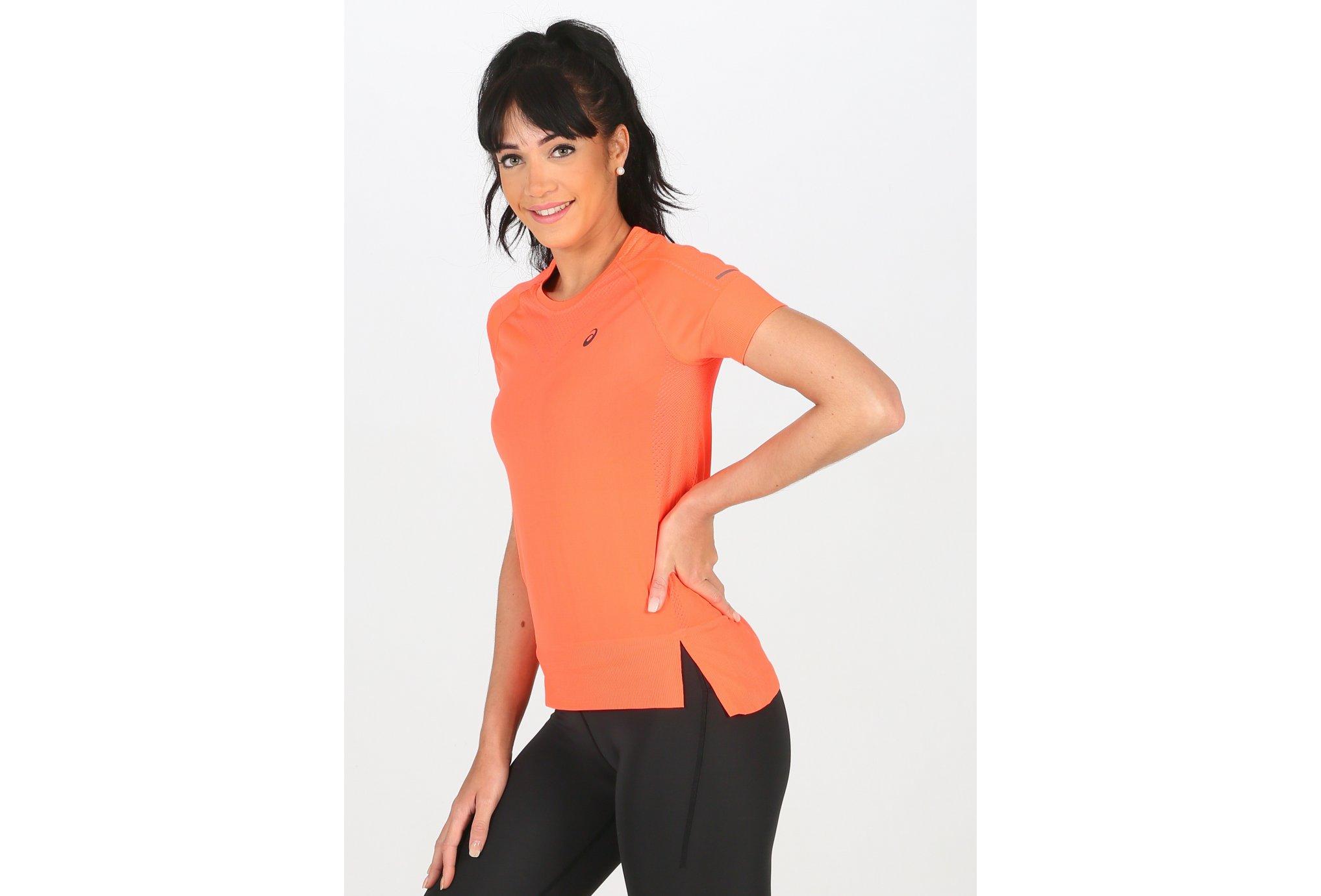 Asics Seamless W Diététique Vêtements femme