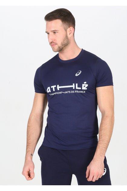 Asics camiseta manga corta Silver SS Top France