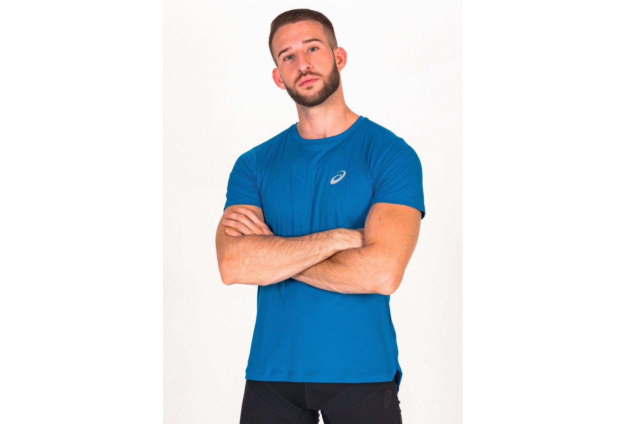 Asics Silver SS Top M vêtement running homme