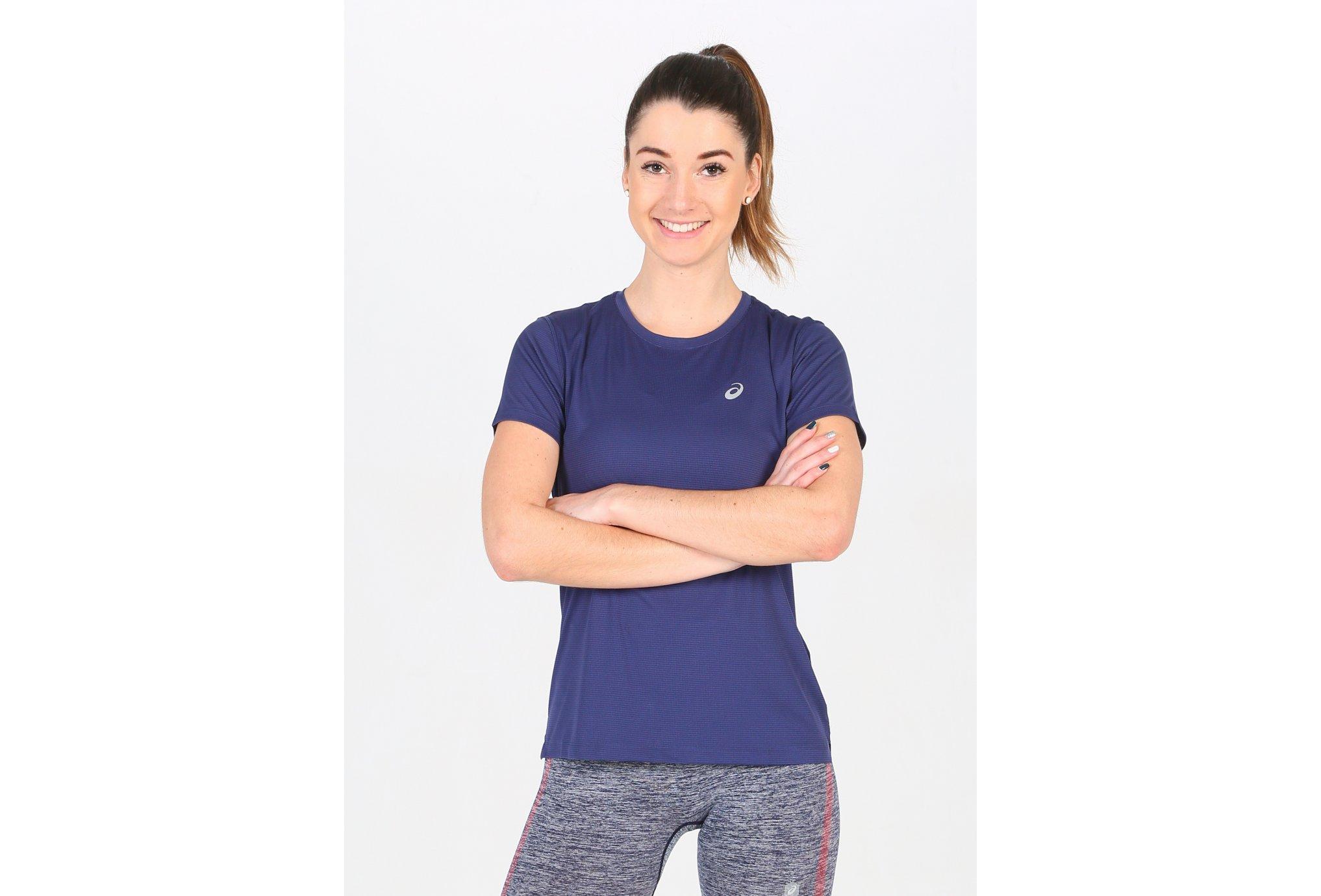 Asics Silver SS Top W Diététique Vêtements femme