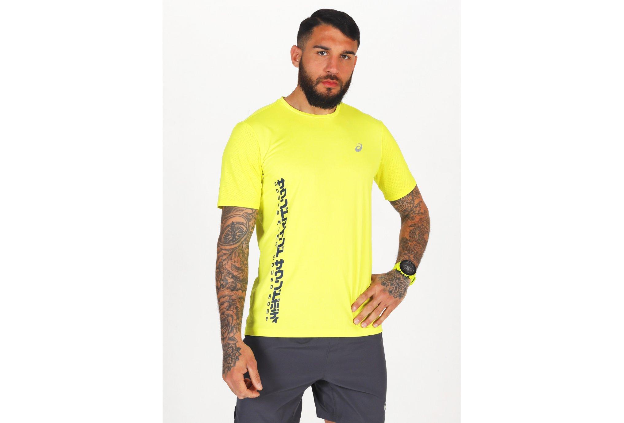 Asics SMSB Run M vêtement running homme