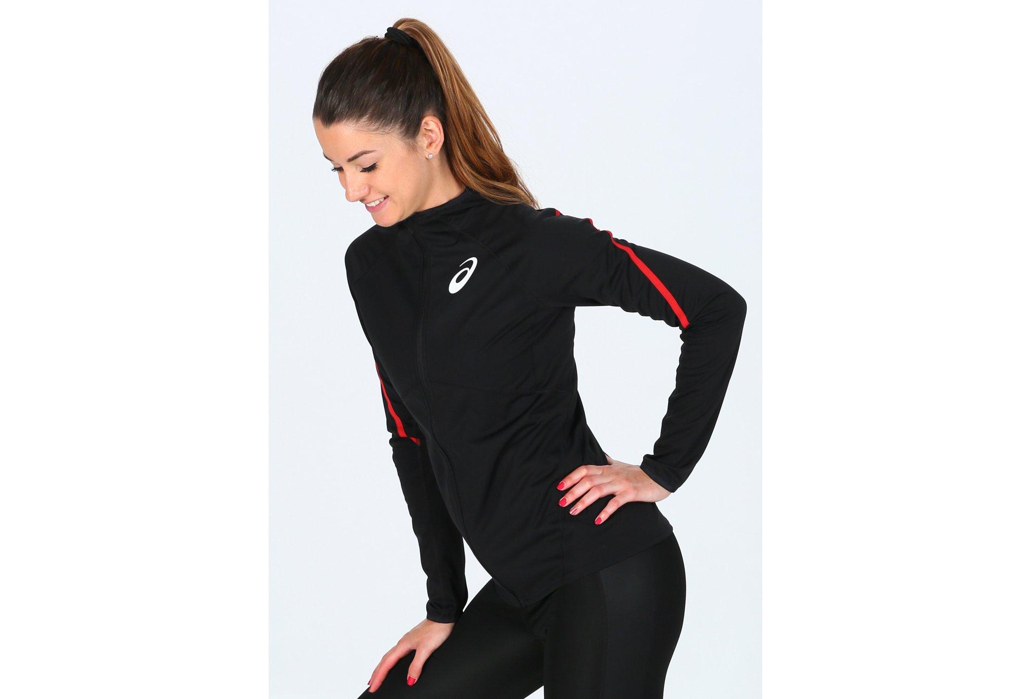 Asics T&F Soft Shell Équipe de France W vêtement running femme