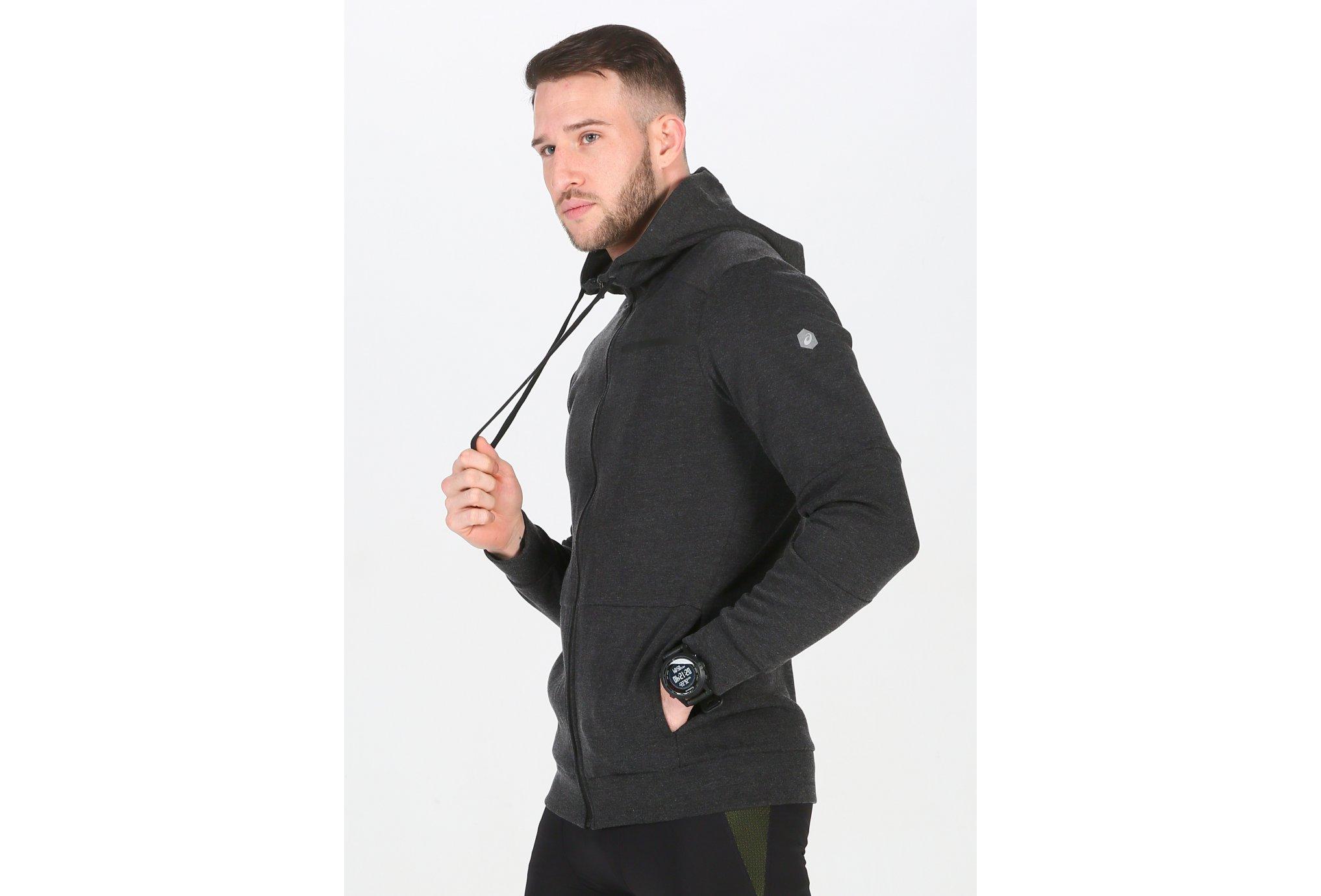 Asics Tailored FZ Hoody M Diététique Vêtements homme