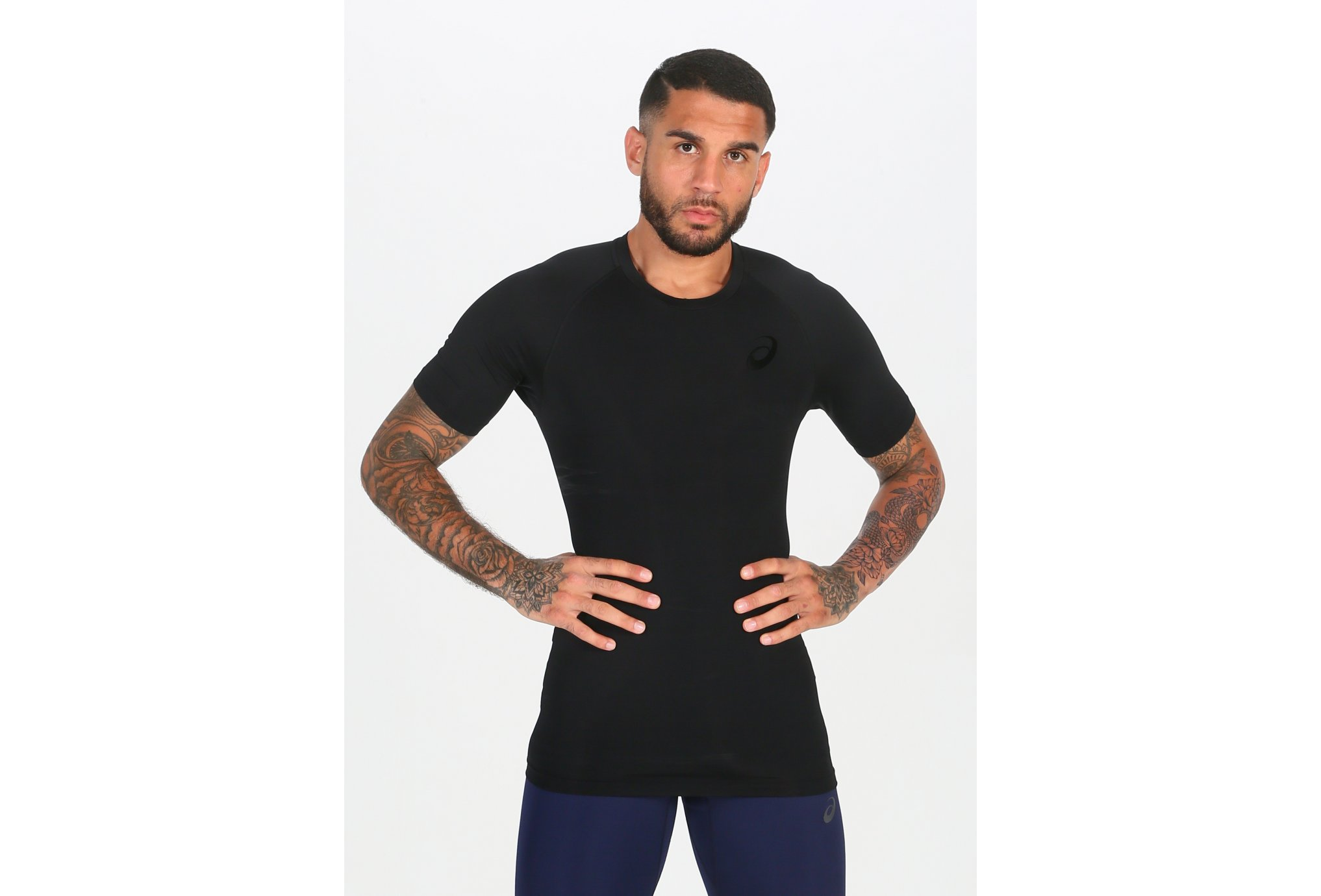 Asics Tee Shirt Inner Muscle M vêtement running homme