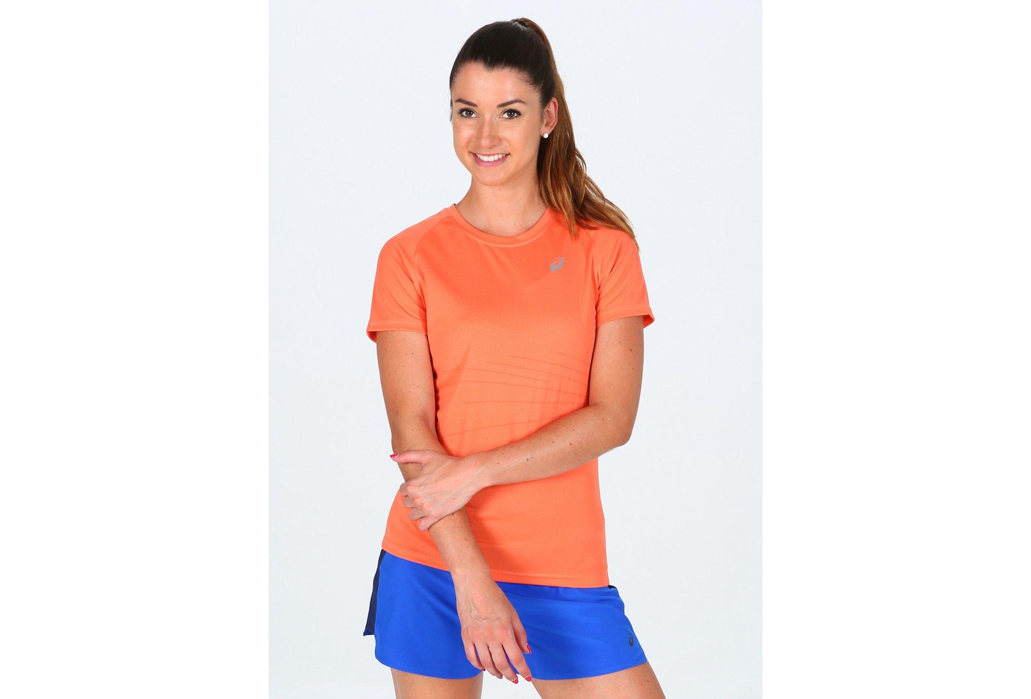 Asics Tee-Shirt LiteShow Graphic Top W Diététique Vêtements femme