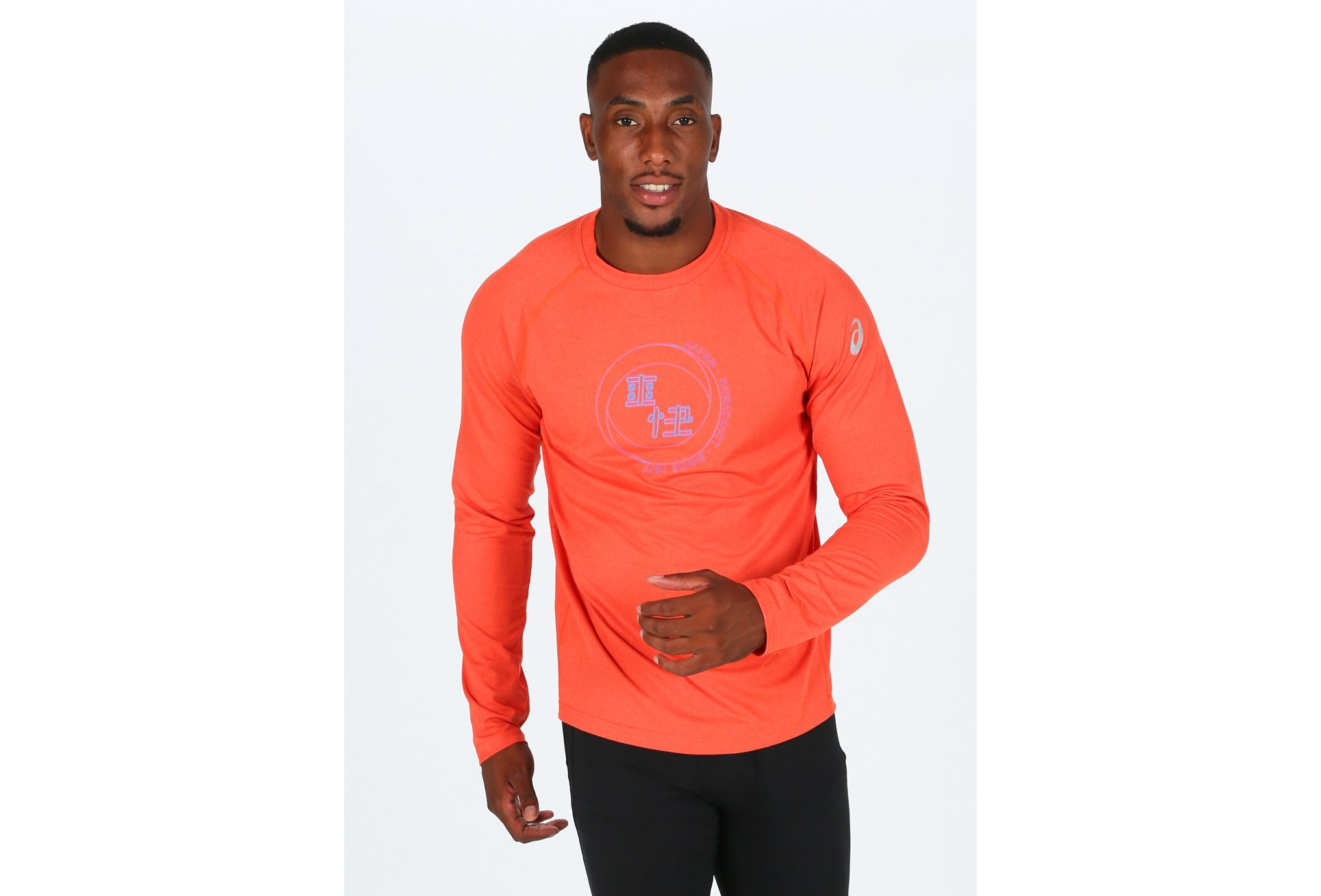 Asics Tee-Shirt Soukai Graphic Top M vêtement running homme