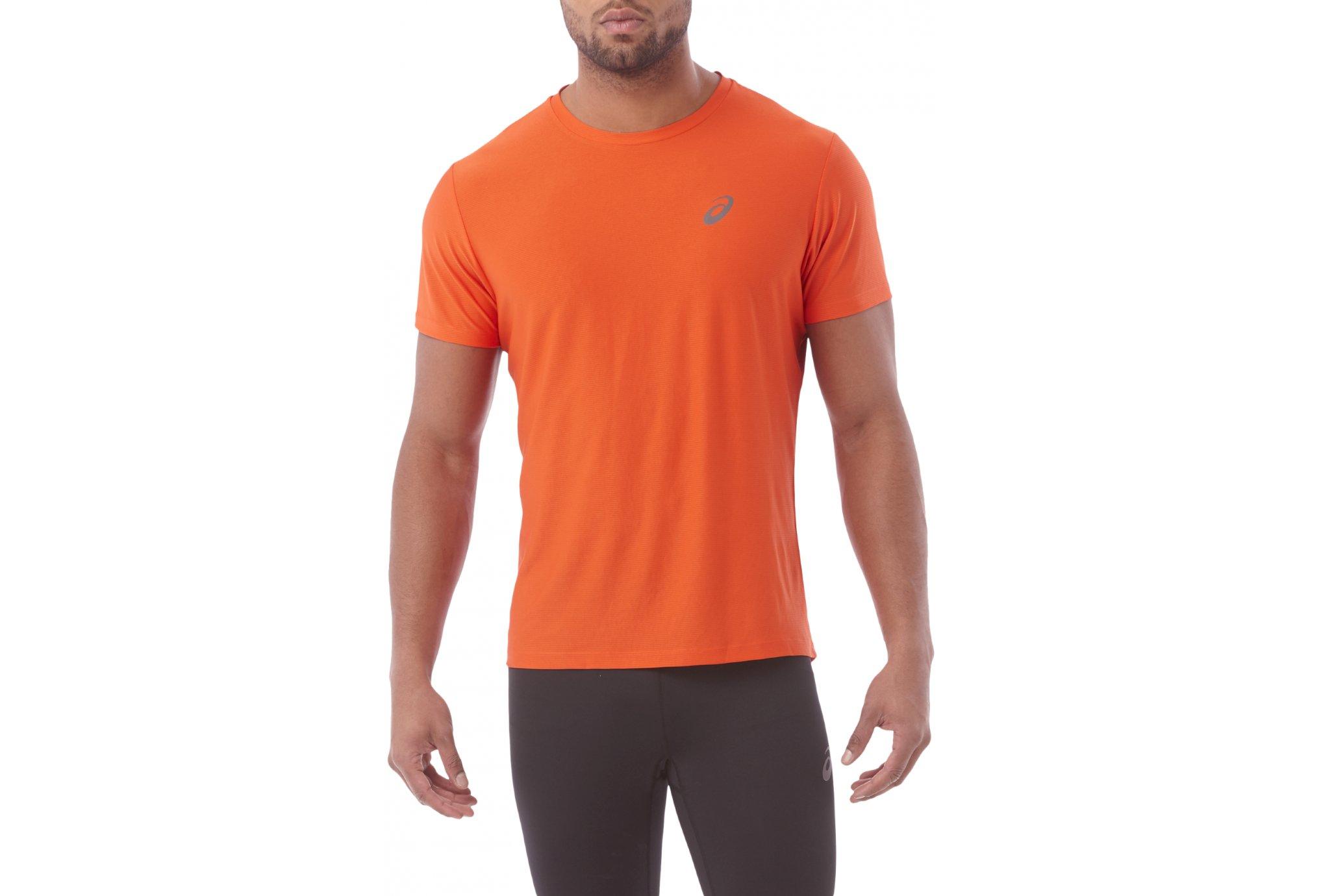 Asics tee shirt ss top m vêtement running homme