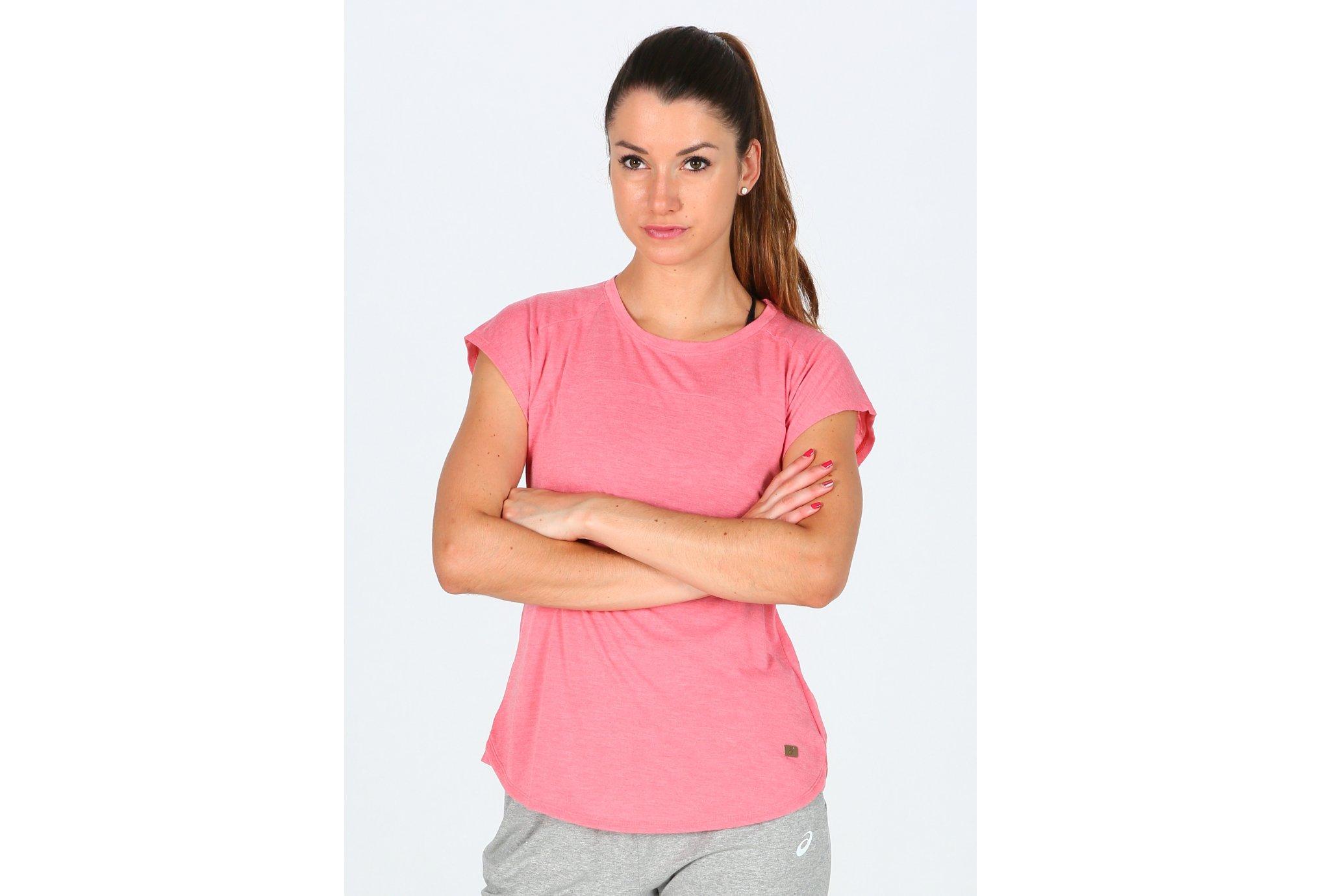 Asics Tee-Shirt Top W Diététique Vêtements femme