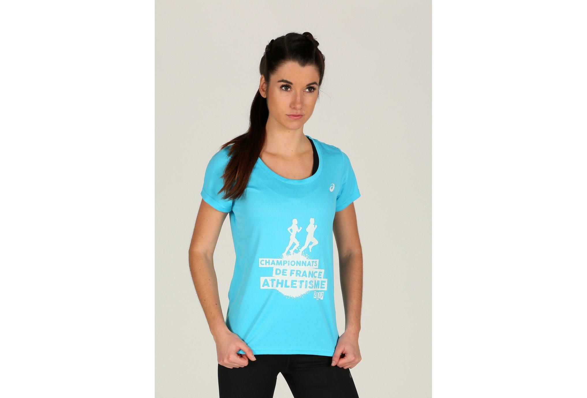 Asics Tee-Shirt W Diététique Vêtements femme