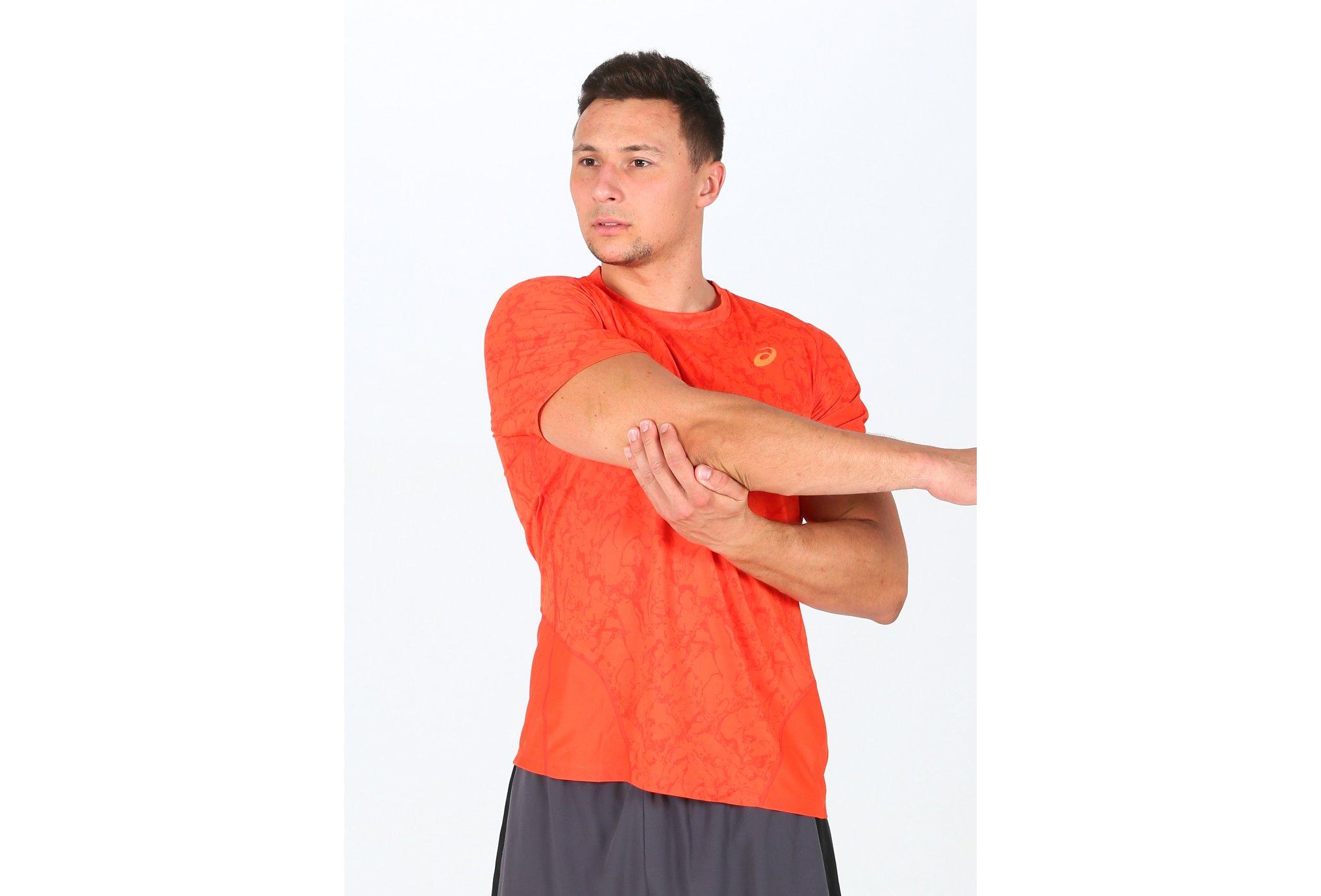 Asics Tee-shirt Zero Distract M vêtement running homme