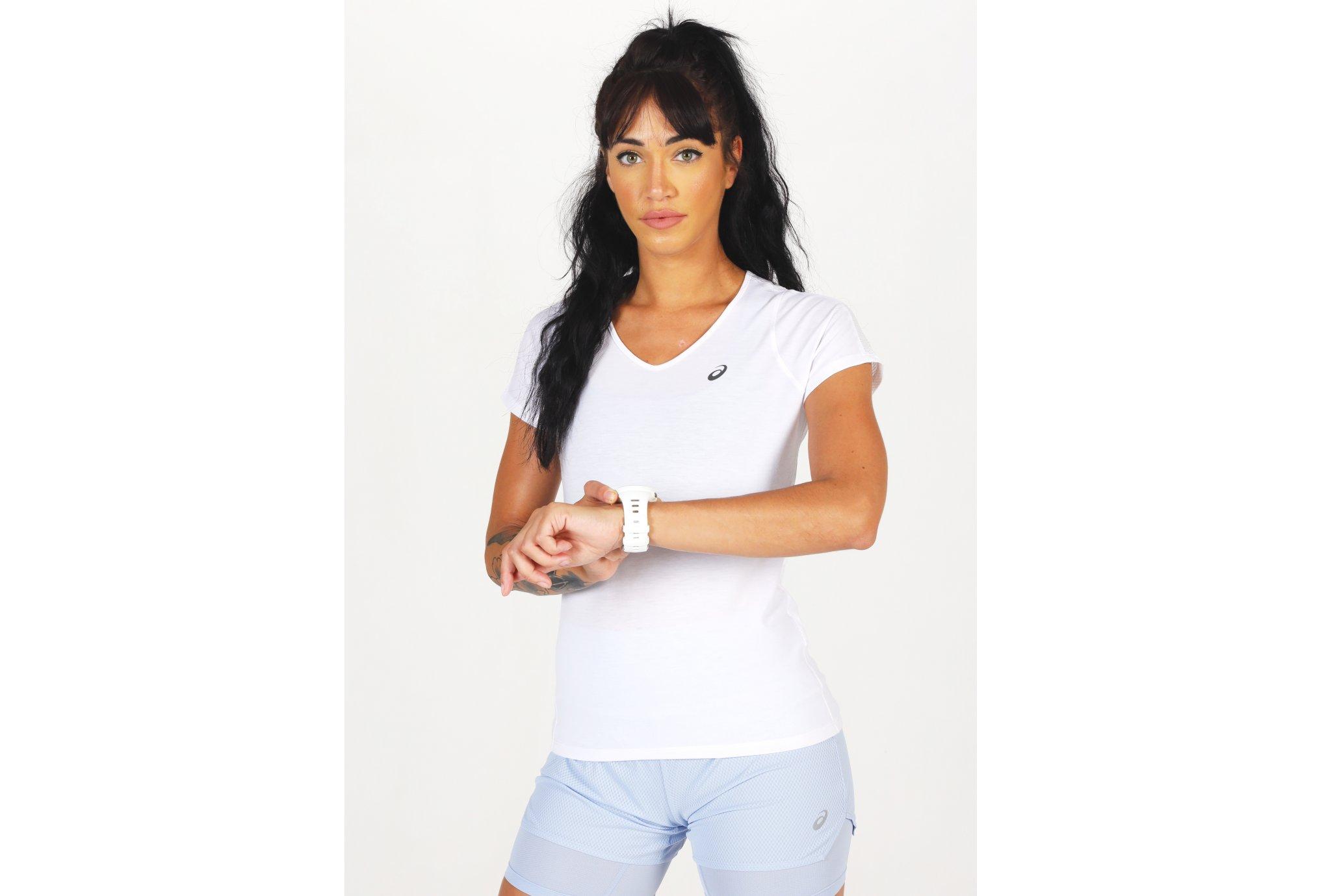 Asics V-Neck W Diététique Vêtements femme