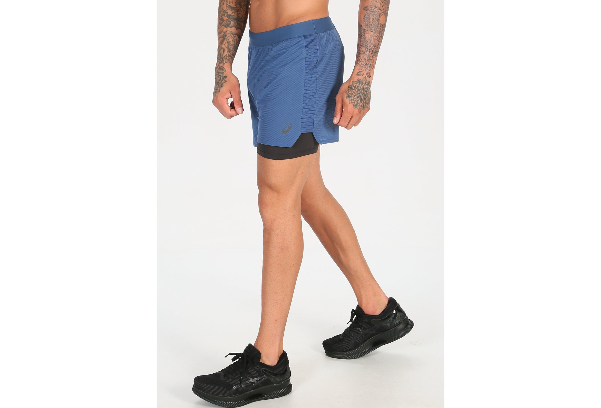 Asics Ventilate 2 en 1 M Diététique Vêtements homme