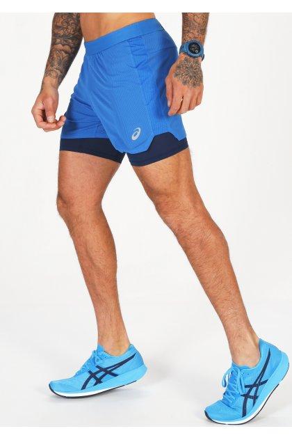 Asics pantalón corto Ventilate 2 en 1