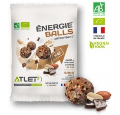 Atlet Énergie Balls Bio - Cacahuète et cacao