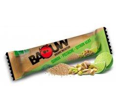 Baouw Barre nutritionnelle bio - Quinoa - Pistache - Citron vert