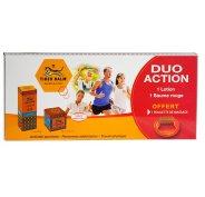 Baume du Tigre Coffret Duo Action 1 lotion + 1 baume rouge + 1 roulette de massage offerte