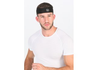 Buff cinta para el pelo Coolnet UV+ Slim Headband R-Solid Black