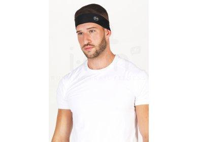 Buff Coolnet UV+ Slim Headband R-Solid Black
