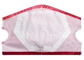 Buff mascarilla con filtro Keren Flash Pink