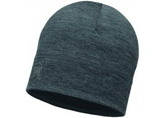 Buff Gorro Merino Wool Solid Grey