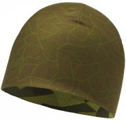 Buff Microfiber Reversible Block Camo Green