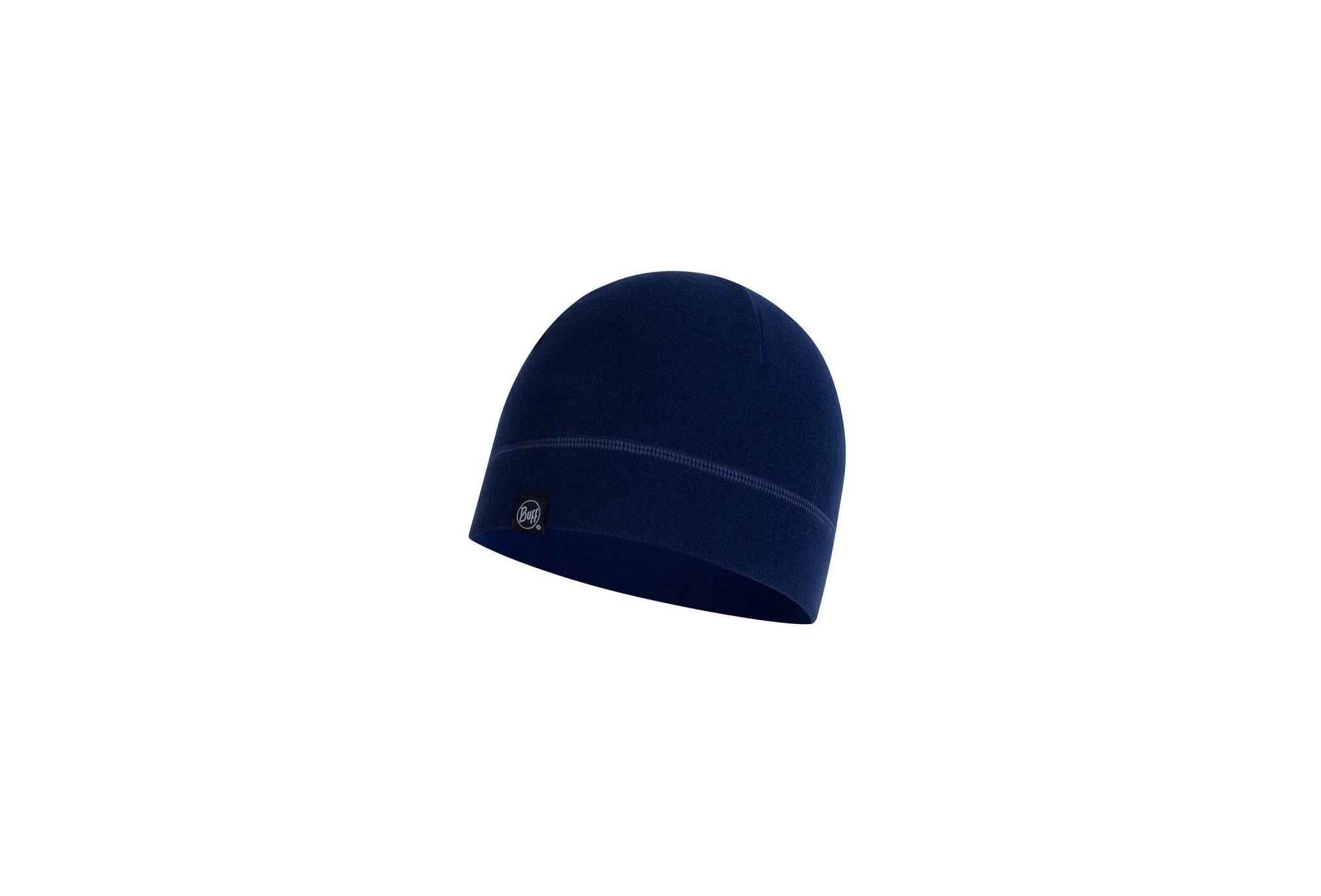 Buff Polar Solid Night Blue Bonnets / Gants