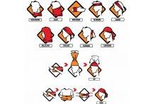 Buff Braga de cuello Reflective R-Multi Logo Orange Fluor
