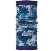 Buff Reversible Polar Winter Garden Blue