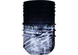 Buff tubular Windproof Neckwarmer Camaleonic Black