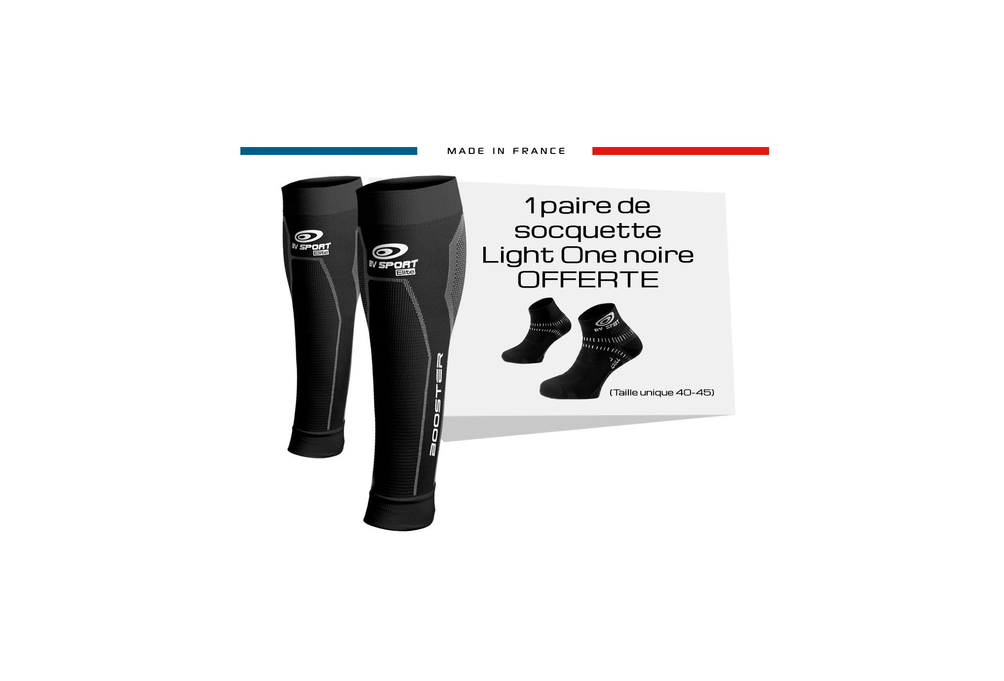 BV Sport Pack Booster Elite & Light One Manchons