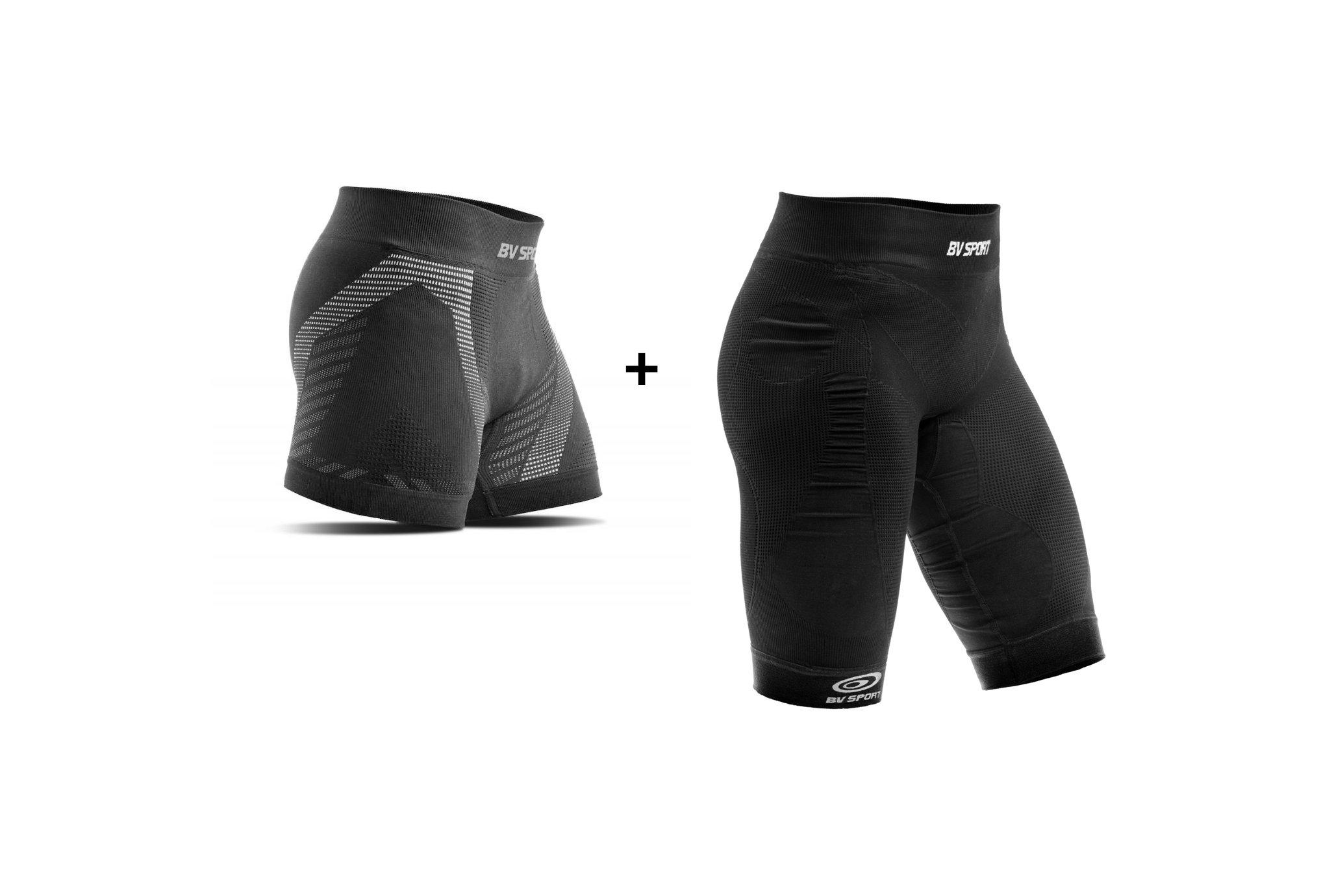 BV Sport Pack cuissard CSX + Boxer Rtech vêtement running femme