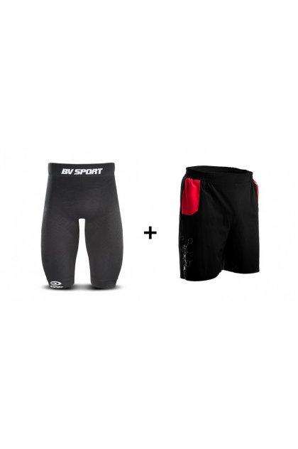 BV Sport Pack de mallas cortas cuissard CSX + pantalón corto Racing