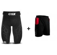 BV Sport Pack cuissard CSX Pro + short Racing  M