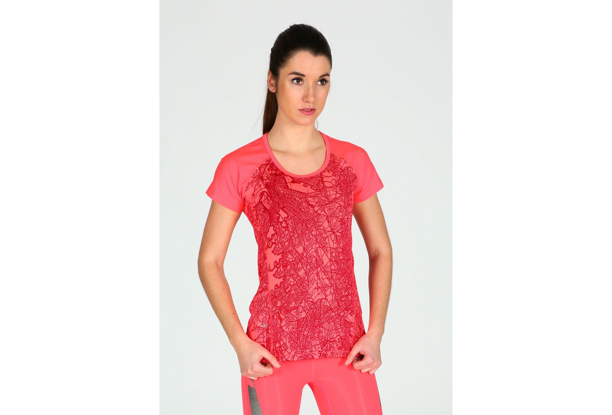 Casall Tee-Shirt Guiderunner W Diététique Vêtements femme
