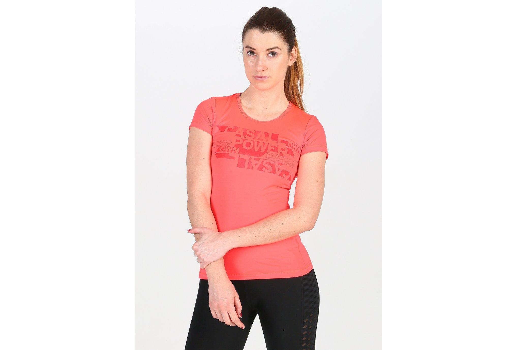 Casall Tee-Shirt Strenght W Diététique Vêtements femme