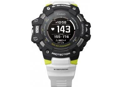 Casio G-SQUAD HR GBD-H1000-1A7ER et sac étanche G-Shock offert