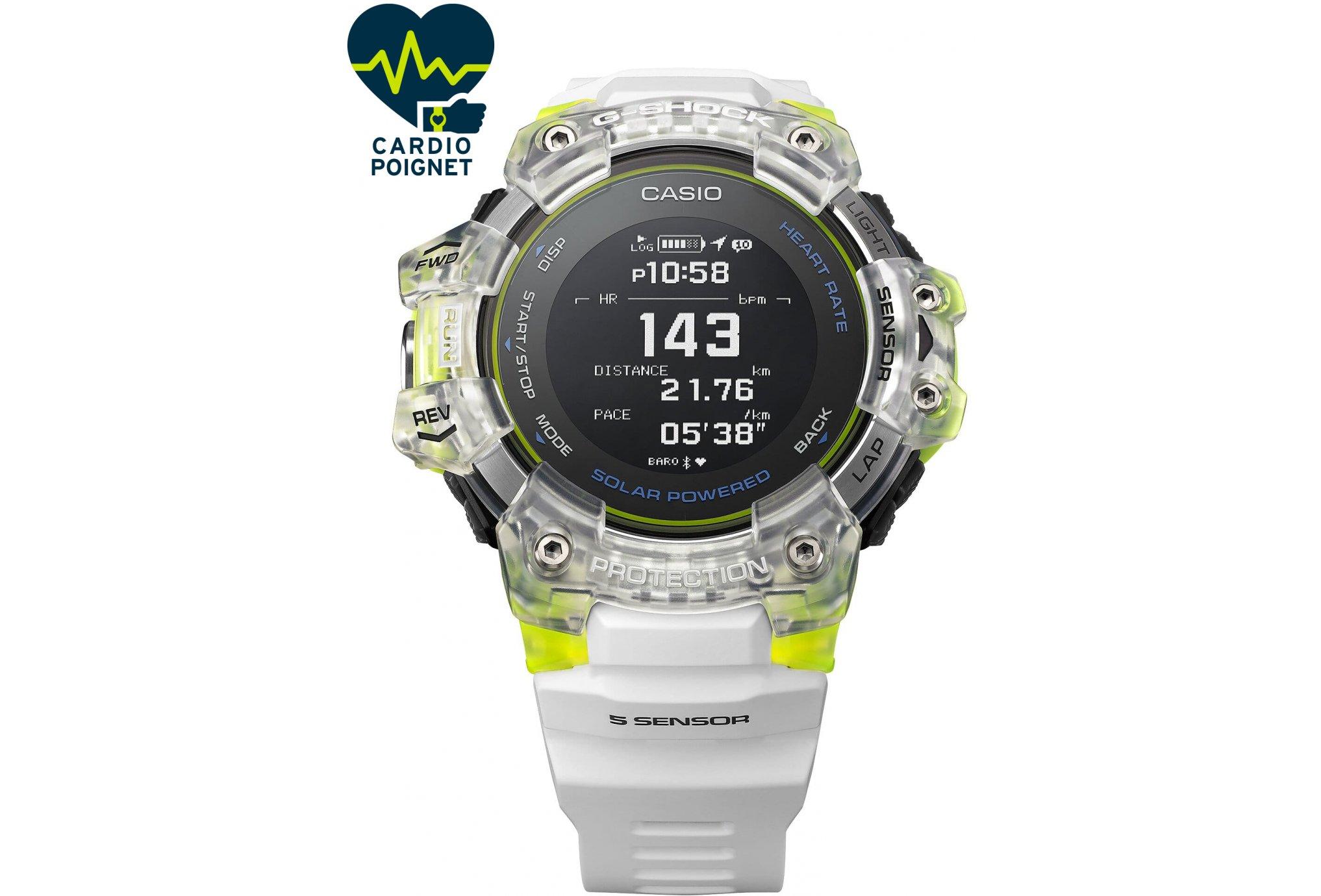 Casio G-SQUAD HR GBD-H1000-7A9ER Cardio-Gps