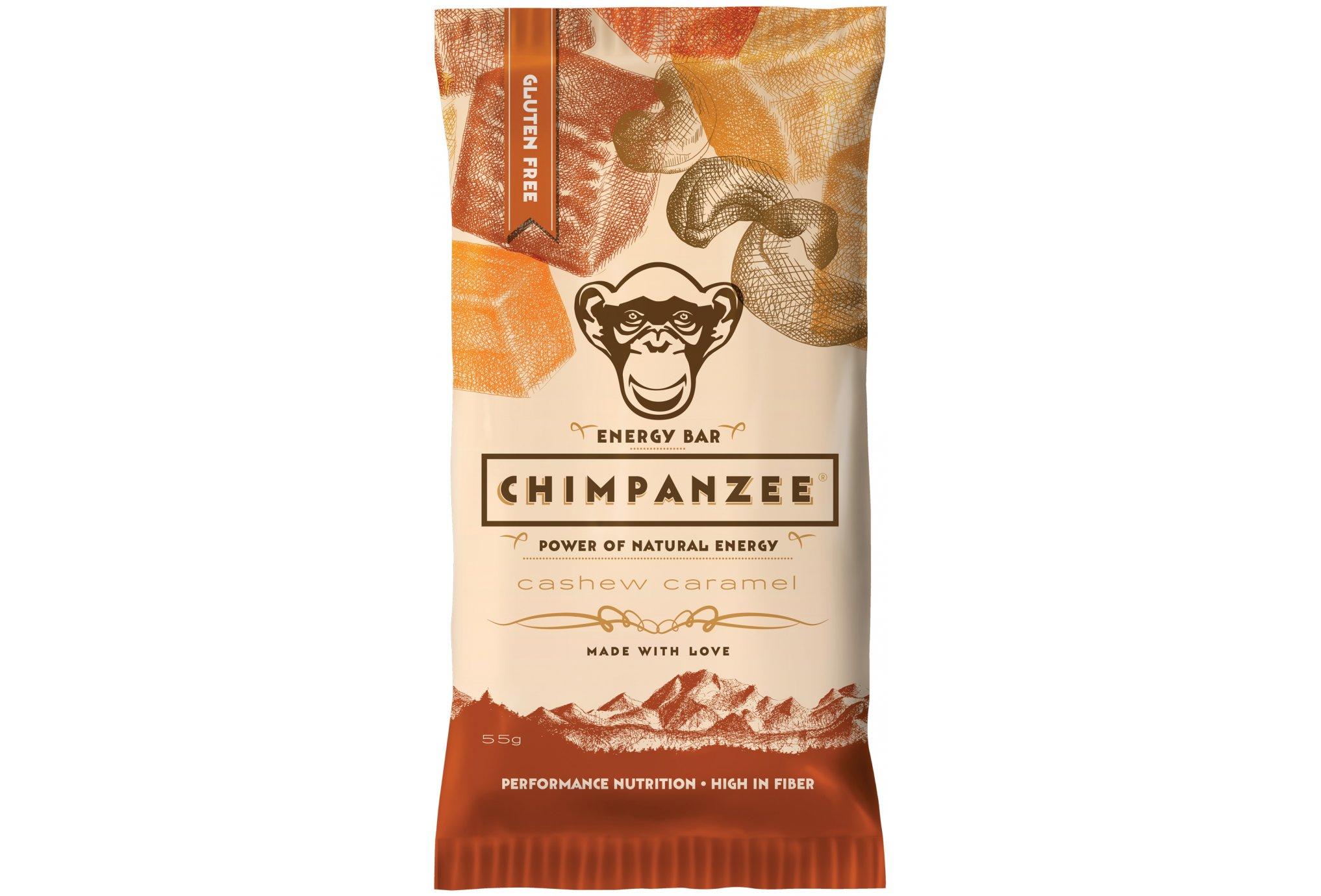 Chimpanzee Barre énergétique - Noix de cajou/Caramel Diététique Barres