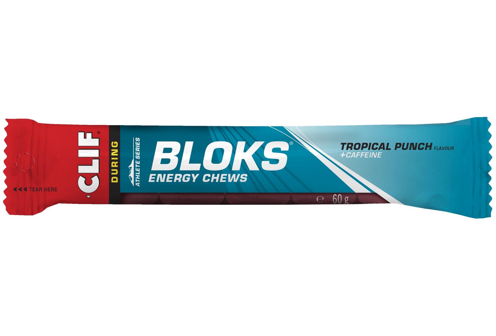 Clif Shot Bloks - Tropical Punch Diététique Barres